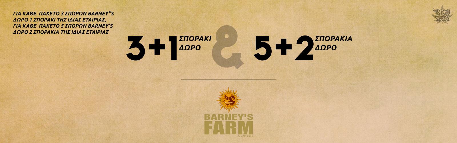 Barneys Farm σπόροι κάνναβης προσφορά